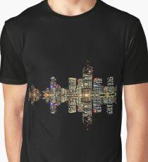 Brisbane at Night Graphic T-Shirt