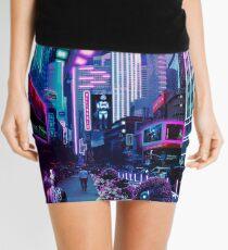Futuristic imaginary New York City Mini Skirt