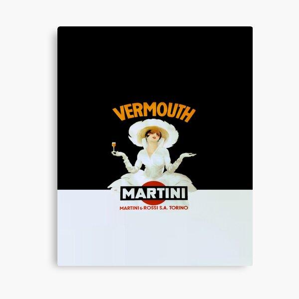 Martini Vermouth Canvas Print
