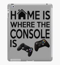 Console Home iPad Case/Skin