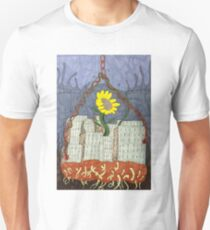 Abstract Flower Growing within city T-Shirt