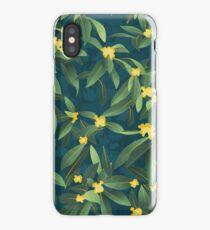 Loquat medlar tree in Autumn I iPhone Case/Skin