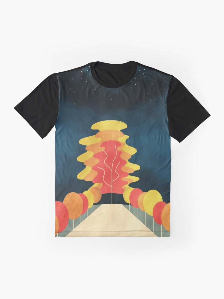 Alternate view of The Universe Tree Graphic T-Shirt