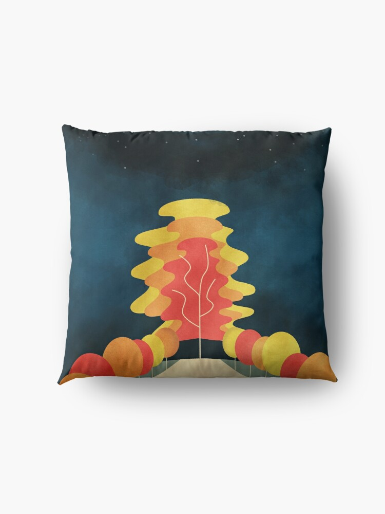 Alternate view of The Universe Tree Floor Pillow