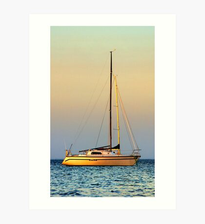 Mornington Sunset Art Print