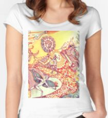 Primavera-Verano Women's Fitted Scoop T-Shirt