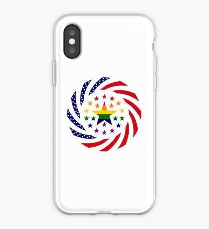 Love is Love American Flag 2.0 iPhone Case