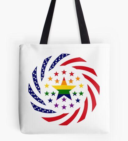 Love is Love American Flag 2.0 Tote Bag