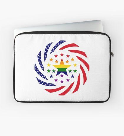 Love is Love American Flag 2.0 Laptop Sleeve