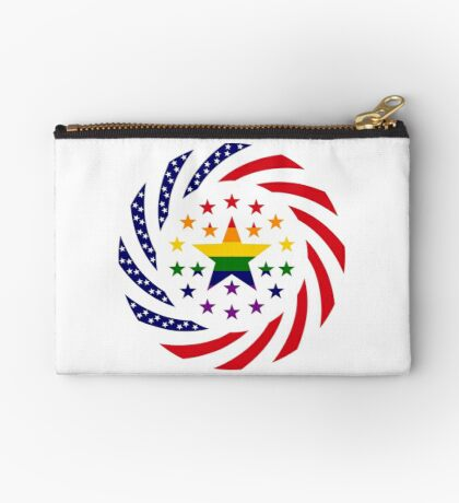 Love is Love American Flag 2.0 Zipper Pouch