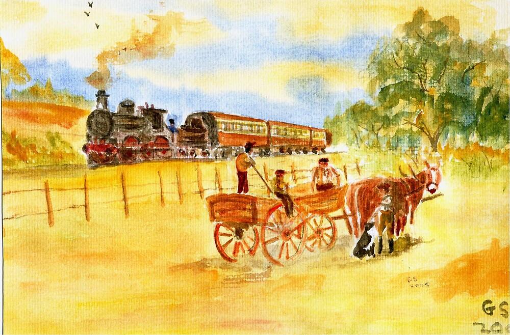 Bygone Days by GEORGE SANDERSON