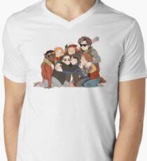 big hug Men's V-Neck T-Shirt