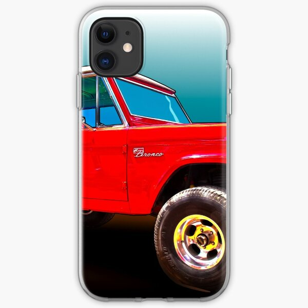 Ford Bronco Classic from VivaChas Hot Rod Art iPhone Soft Case