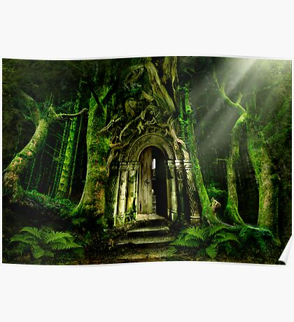 The Emerald Forest Poster