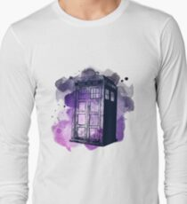 Tardis Nebula Long Sleeve T-Shirt