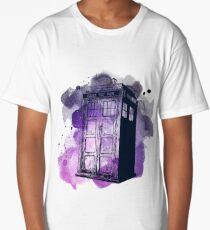Tardis Nebula Long T-Shirt