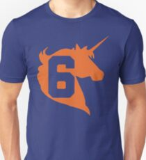 Unicorn Design - New York (Orange) T-Shirt