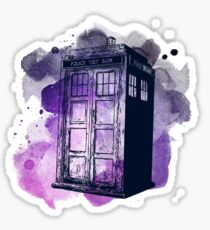 Tardis Nebula Sticker