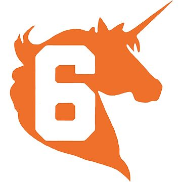 Unicorn Design - New York (Orange) by TheDFDesigns