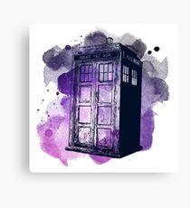 Tardis Nebula Canvas Print