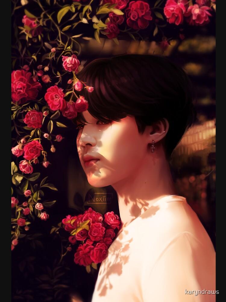 """""""Als du mich angerufen hast, bin ich deine Blume geworden."""" von karyndraws"""