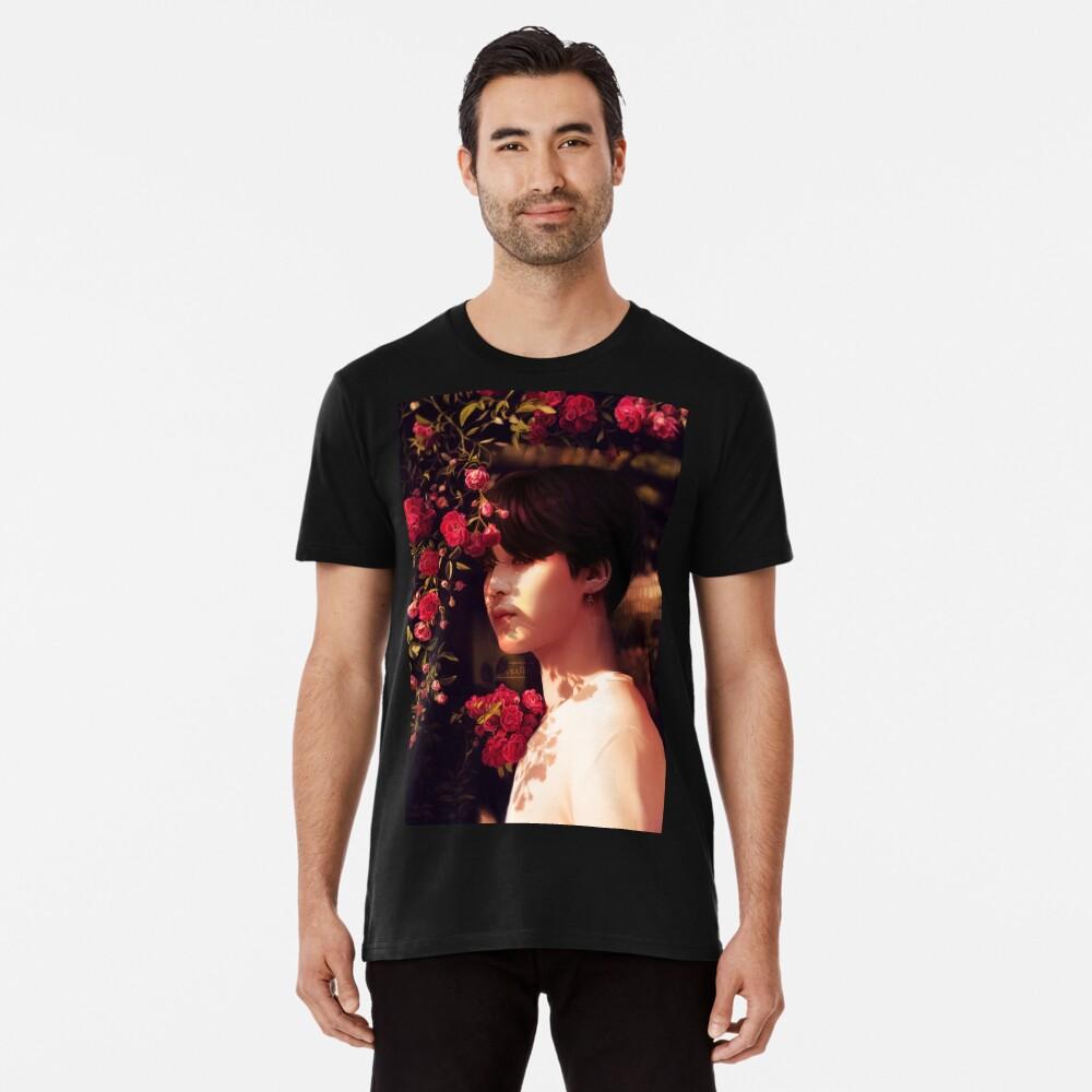 """""""Als du mich angerufen hast, bin ich deine Blume geworden."""" Premium T-Shirt"""