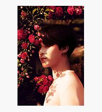 """""""When you called me, I became your flower."""" Photographic Print"""