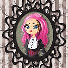 Gothic doll crying by enriquev242