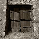 Door - Shearing Shed - Cordillo Downs Station - NE South Australia by Jeff Catford