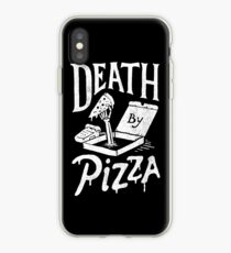 Death By Pizza iPhone Case