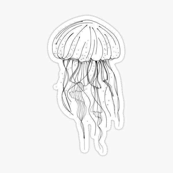 Jellyfish Sticker