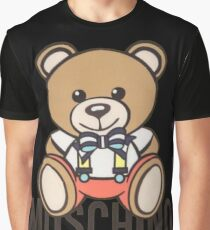 Moschino bear Graphic T-Shirt