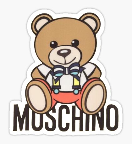 41ad8a43d2 Moschino bear by Heratrejo · Moschino mcdonald by Dessygibon