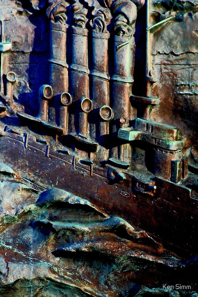 The Russian Ship by Kenart