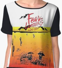Fear and Loathing in Las Vegas- Desert Women's Chiffon Top