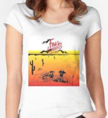 Fear and Loathing in Las Vegas- Desert Women's Fitted Scoop T-Shirt