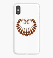 Violin heart, for the love of music iPhone Case/Skin