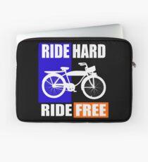 BIKE-RIDE HARD RIDE FREE Laptop Sleeve