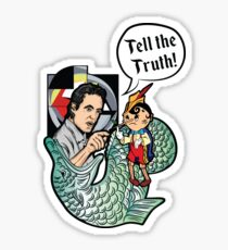 Dr. Peterson - TELL THE TRUTH Sticker