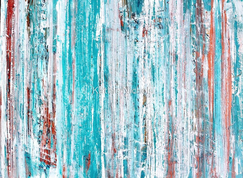 Turquoise Rain by Kathie Nichols