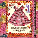 you are the universe!  by Virginia Fitzgerald