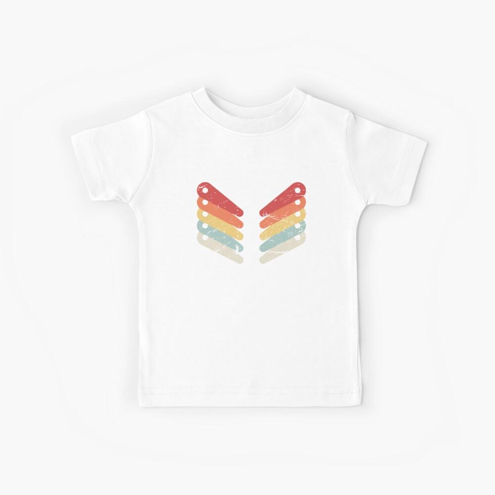 Retro Distressed Pinball Flipper Kinder T-Shirt