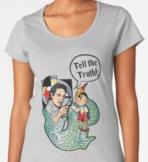 Dr. Peterson - TELL THE TRUTH Women's Premium T-Shirt