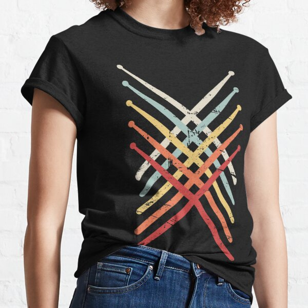 Percussion Marching Band Drum Sticks Classic T-Shirt