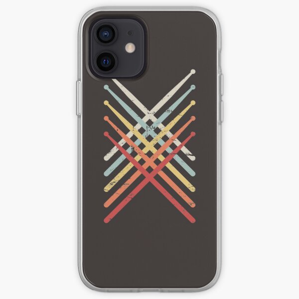 Percussion Marching Band Drum Sticks iPhone Soft Case