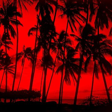 Red Palms by heliconista
