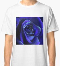 Vibrant Blue Rose Classic T-Shirt