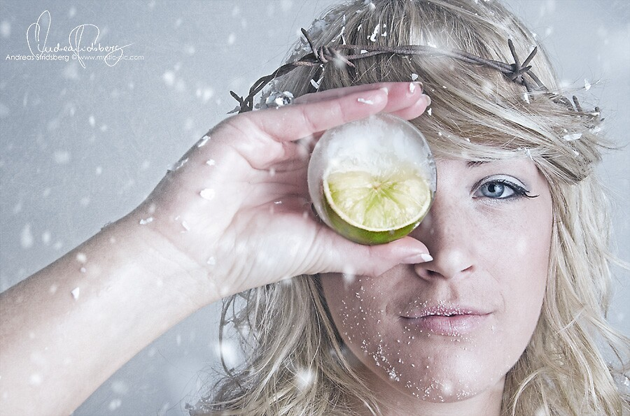 Frozen Lime by Andreas Stridsberg