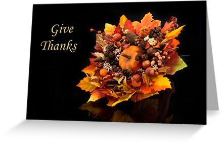 Give Thanks by Kathy Weaver