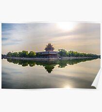 Forbidden City moat Poster